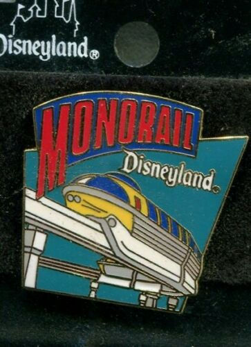 MONORAIL PIN DISNEYLAND 1998 ATTRACTION SERIES - ON ORIGINAL CARD free shipping