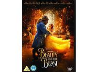 Beauty & the beast dvd (Disney 2017) + Transformers - Last knight (2017)