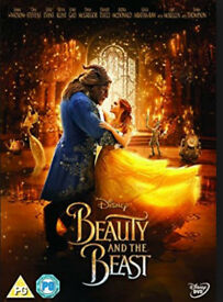Beauty & the beast dvd (Disney. emma watson 2017)