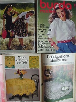 80er Mode Kinder (BURDA MODEN 81/03 Kunststricken DIRNDL Tennis-Mode Kindermode Romantik 80er J.)