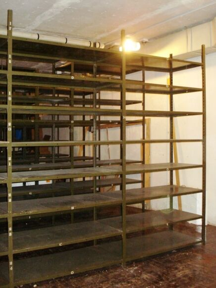 MILITARY GRADE HEAVY DUTY INDUSTRIAL METAL SHELVING