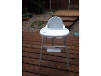 Baby high chair for a good home