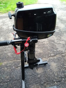 Coleman 5 hp outboard four stroke