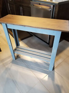 HANDMADE RUSTIC CONSOLE TABLES