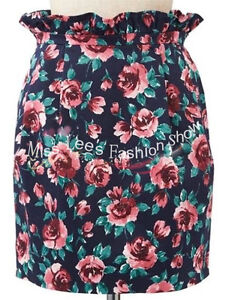 floral chic skirt