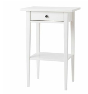 Two Ikea Hemnes Night stands White. Both for $100