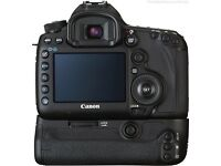 Canon 5D Mark iii camera body with Battery grip and optional extra 100mm Macro lens 2.8 USM IS