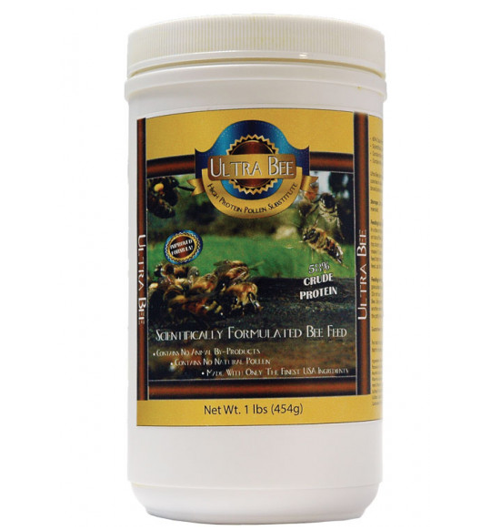 Ultra Bee Pollen Substitute for Beekeeping (1 lb)