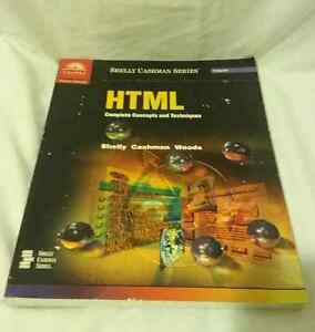 HTML: Complete Concepts and Techniques Edmonton Edmonton Area image 2