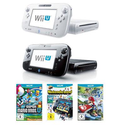 Nintendo Wii U Konsolen Set Premium / Basic 32GB / 8GB