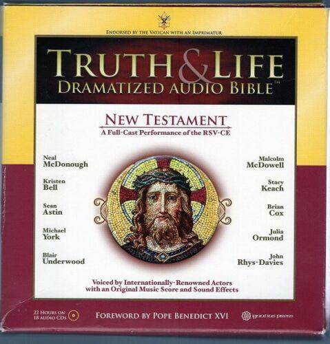Truth & Life Dramatized Audio Bible: New Testament CDs
