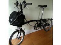 Brompton Folding Bike S6L