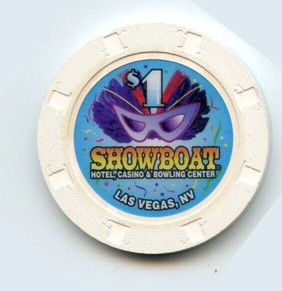1.00 Chip from the Showboat Casino in Las Vegas Nevada