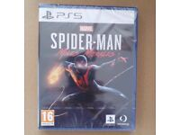 **SEALED** SPIDER-MAN MILES MORALES GAME FOR PS5 BRAND NEW FOR PLAYSTATION