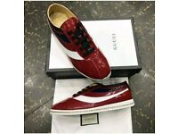 Stripe Gucci shoes
