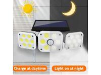 Solar Security Light Outdoor 3 Head