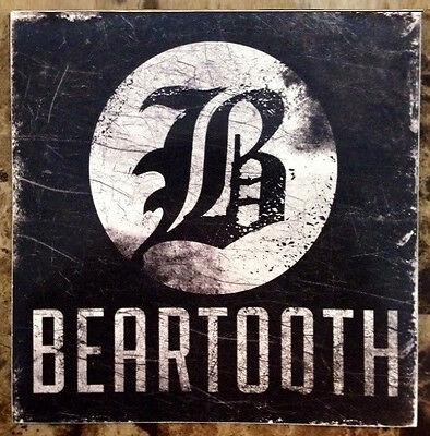 BEARTOOTH Disgusting Ltd Ed RARE Sticker +FREE Metal Punk Stickers! Aggressive