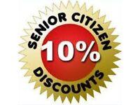 PROPERTY MAINTENANCE *FREE Senior Citizen Services* & 10% discount over 55's!