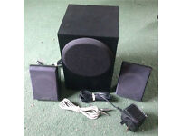 Creative Inspire P380 Speakers and Sub Woofer - Surround Sound TV Music