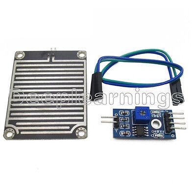5 Pcs Rain Weather Module Raindrops Detection Sensor Moduel Humidity For Arduino