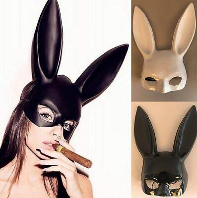 Halloween Party Nightclub (Halloween Lady Bunny Mask Party Bar Nightclub Costume Rabbit Ears Sexy)