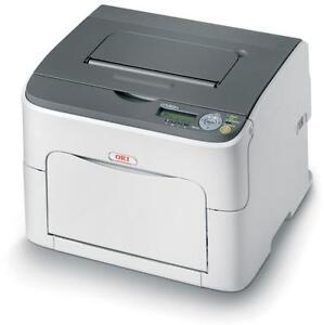 OKI C130N Laser Desktop A4 Colour Printer *Brand NEW*