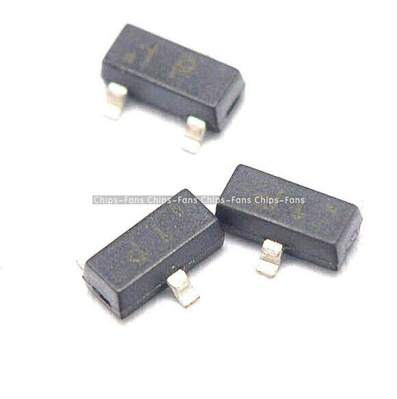100Pcs  MMBT2222 SOT-23 2N2222 SMD NPN Transistor NEW TOP QUALITY