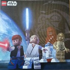 NEXT Lego Star Wars Canvas Picture 45cm x 45cm