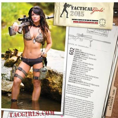 2015 Tactical Girl Calendars  Several Months Signed