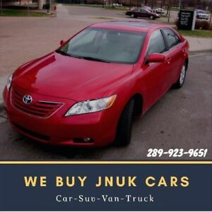 ➽Scrap Junk Cars REMOVAL ➽ We Pay Cash For Cars ☎️289-923-9651☎️