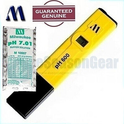 Milwaukee Instruments Ph600 Ph 7 Solution Digital Water Ph Metertester