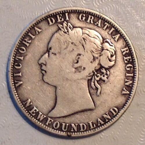1881 Newfoundland Canada Victoria 50 Cents