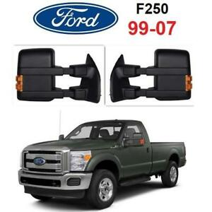 NEW* 2PC SYPPO TOWING MIRRORS A2034LED 249260049 99-07 FORD F250