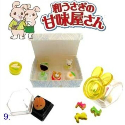 Megahouse Rabbit Japanese Food #9- Wagashi,1:6 minis Re-ment size dollhouse food