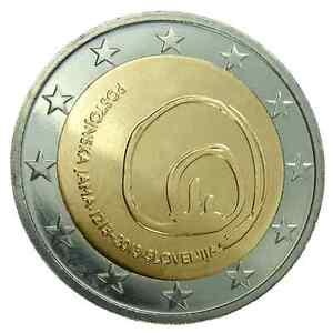 moneta 2 euro slovenia 2013 grotte di postumia. Black Bedroom Furniture Sets. Home Design Ideas