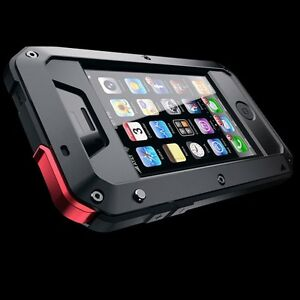 Impermeable-Antigolpes-Aluminio-Gorilla-Cristal-Metal-Funda-para-Apple-iPhone