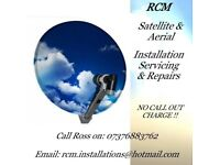 satellite aerial installation/repairs