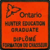 Ontario hunting course / Cours de Chasse de l'Ontario