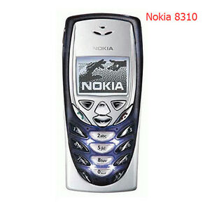 Nokia 8310 - Dark Blue (Factory Unlocked) Classic Retro Cellular Phone