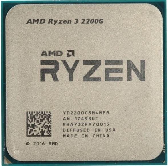 Ryzen 3 2200g Apu With Radeon Vega 8 Graphics New In