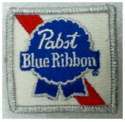 "PABST Blue Ribbon  Brewing Company  2"" X 2""  PATCH  New"