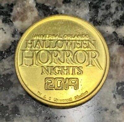 "Halloween Horror Night Orlando (UNIVERSAL ORLANDO HALLOWEEN HORROR NIGHTS HHN 2019 PALACE ARCADE 7/8"" GAME)"