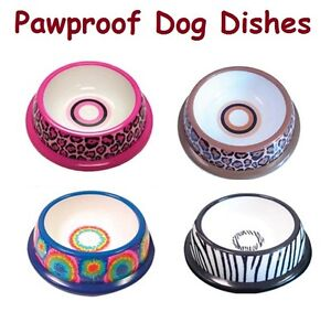 PAWPROOF-PLASTIC-PET-DISHES-for-DOGS-Designer-Dog-Bowls-with-FREE-SHIPPING