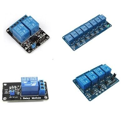 1pcs 5v 1248 Channel Relay Board Module Optocoupler Led For Arduino Pic Arm L