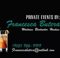 OFFERING Services For Your Private Event!