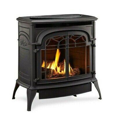 Monessen Vermont Castings Sundance Vent Free Gas Stove Classic Black Propane Classic Stoves Fireplaces