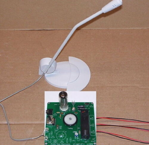 Old Time Radio Show broadcaster unbuilt VACUUM TUBE AM radio MP3 transmitter kit