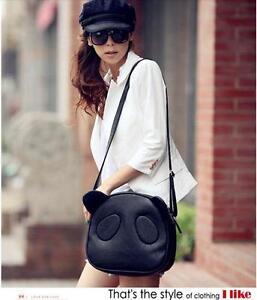 New-Womens-Girls-Cute-Panda-PU-Leather-Handbag-Shoulder-Bag-Cross-Body
