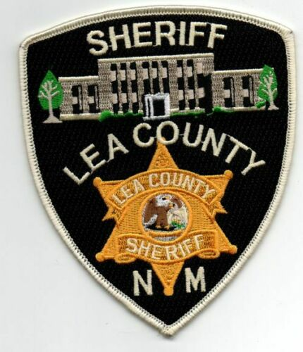 NEW MEXICO NM LEA COUNTY SHERIFF NICE PATCH POLICE