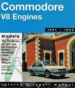 Holden Commodore VH/VK (8 cyl) *****1985 Gregorys Repair Manual Blacktown Blacktown Area Preview